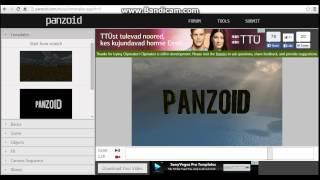 как сделать красивое начало видео(http://panzoid.com/ забыл сказать в самом низу менять цвет., 2015-08-06T13:26:12.000Z)