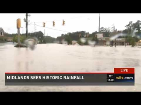 04 Oct 2015   Historic Flooding: Midlands, Columbia, South Carolina #Flood #Columbia
