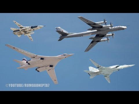 Russian Air Power Part 1: Bombers - TU-160, TU-95, TU-22, SU-24 - 4 - Bombardeiros