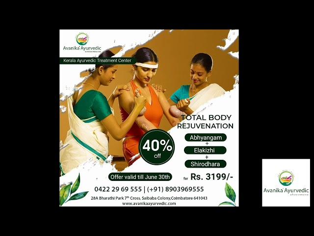 Kerala Ayurvedic Massage Center in Coimbatore