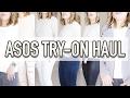 ASOS TRY-ON HAUL   PETITE & CURVY