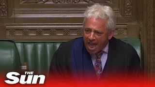 John Bercow's most controversial moments as Speaker of the House