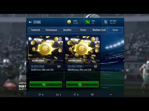 So.. Madden Ultimate Team Is NOW SELLING COINS! :: Madden 18 Ultimate Team