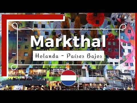 Markthal Rotterdam - El mercado cubierto en Rotterdam - Holanda