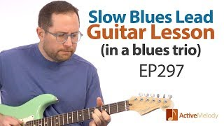 In this week's blues guitar lesson, you'll learn how to play both r...