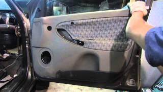 видео Купить верхнюю защитную накладку на задний бампер Лада Калина ВАЗ 1117 (Универсал)
