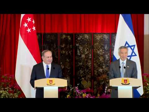 Statements by PM Netanyahu and PM of Singapore Lee Hsien Loong