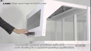 Hg-pa200 Lift Assist Hinge With Soft Close