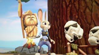 Zootopia Judy Hopps personalizados en 3D de dibujos animados de aventura w/canciones infantiles