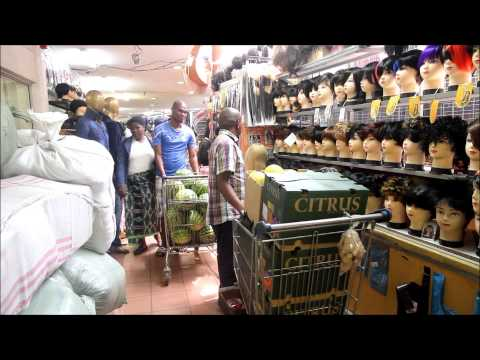 Dragon City Johannesburg: Street vendor Part 1