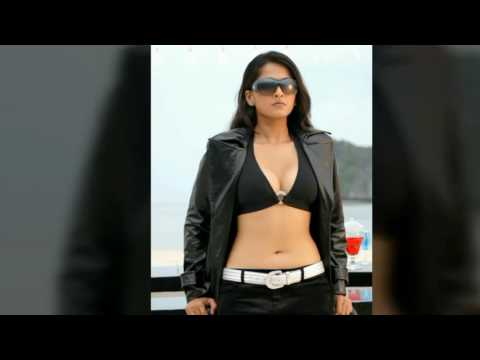 Anushka shetty hot boobs, cleavage, sexy thighs, Naval and back