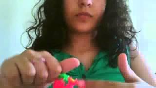 Rainbow Loom sem tear #1 #UFK - Moranguinho Thumbnail