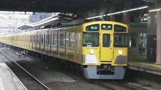 西武鉄道9000系(9102F)清瀬駅にて