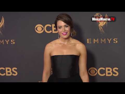 Mandy Moore arrives at 69th Annual Primetime Emmy Awards