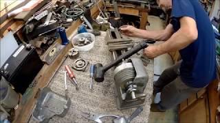 craftsman 109.20630 mini lathe restore part 1