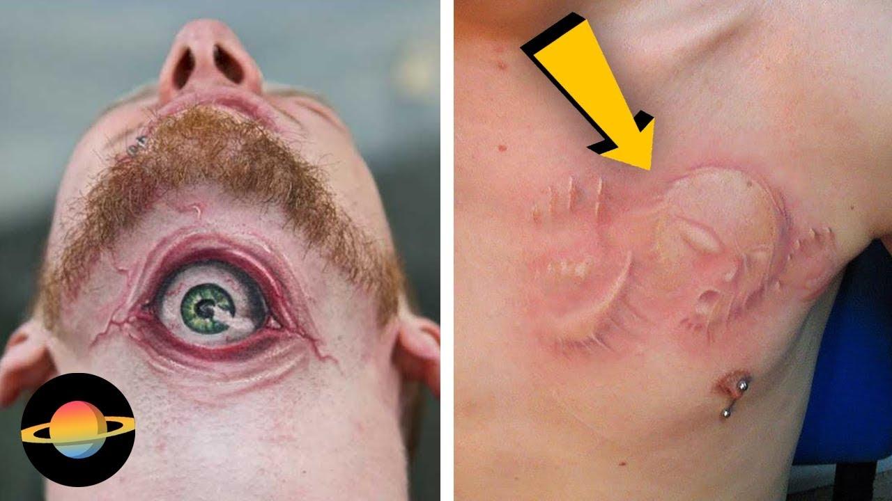 10 Najciekawszych Realistycznych Tatuaży