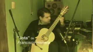 """JOTA"" de Francisco Herrera (Michel Bert, guitarra)"
