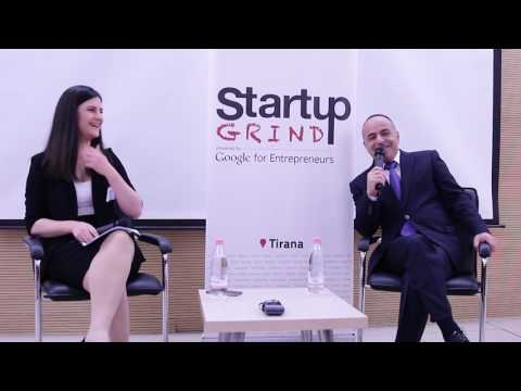 Startup Grind Tirana Hosts Kadri Morina (EuroSig)