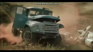 ZiL - 130V1 VS GAZ - 24-02, Epic Car Chase!