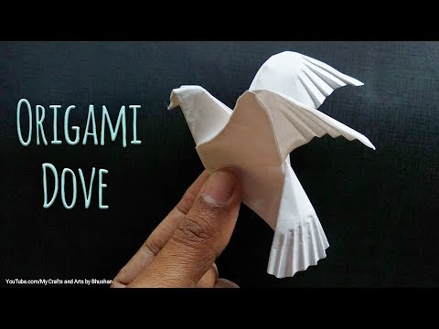 Image result for origami dove instructions | Origami dove, Origami ... | 360x480
