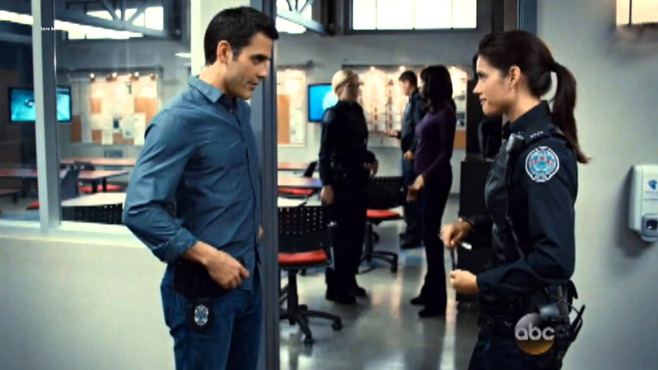 """Rookie Blue - Sam and Andy """"I will be"""" - YouTube Rookie Blue Andy And Sam"""