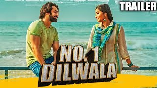 No. 1 Dilwala (Vunnadhi Okate Zindagi) Official Hindi Dubbed Trailer | Ram Pothineni, Lavanya
