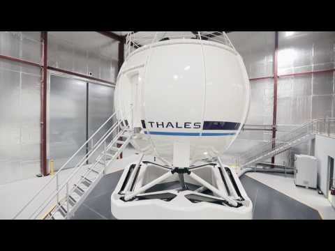 Thales LifeFlight AW139 simulator