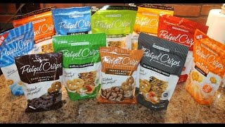 Snack Factory Pretzel Crisps Part Iii Peanut Butter Crunch & Dark Chocolate Crunch Review