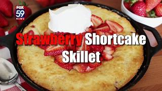 Strawberry Shortcake Skillet