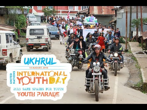 Ukhrul - International Youth Day, 2018