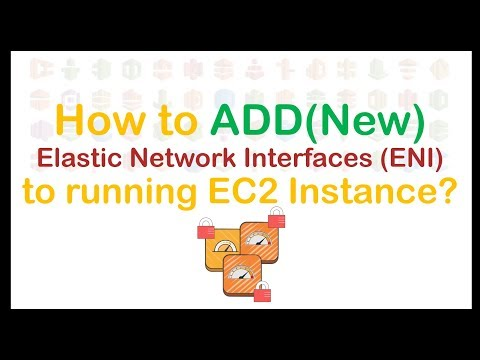How To Add Additional Elastic Network Interface ( ENI ) To EC2 (running) Instances? | Demo