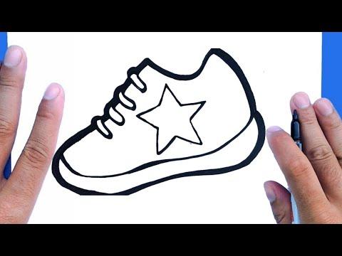 Comment Dessiner Des Chaussures Nike Youtube