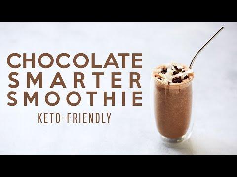 chocolate-smarter-smoothie-#keto-#paleo-#vegan-option