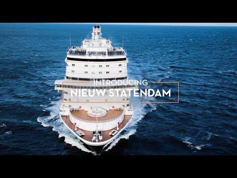 "Holland America Line's Newest Pinnacle Class Ship ""Nieuw Statendam"""