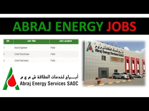 Oil And Gas Jobs In Abraj Energy Oman   Drilling Rig Career