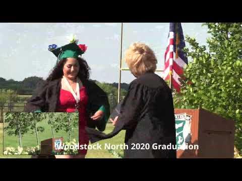 5:00 PM Ceremony - Woodstock North High School 2020 - July 25 -  21st Century Slideshows Live Stream