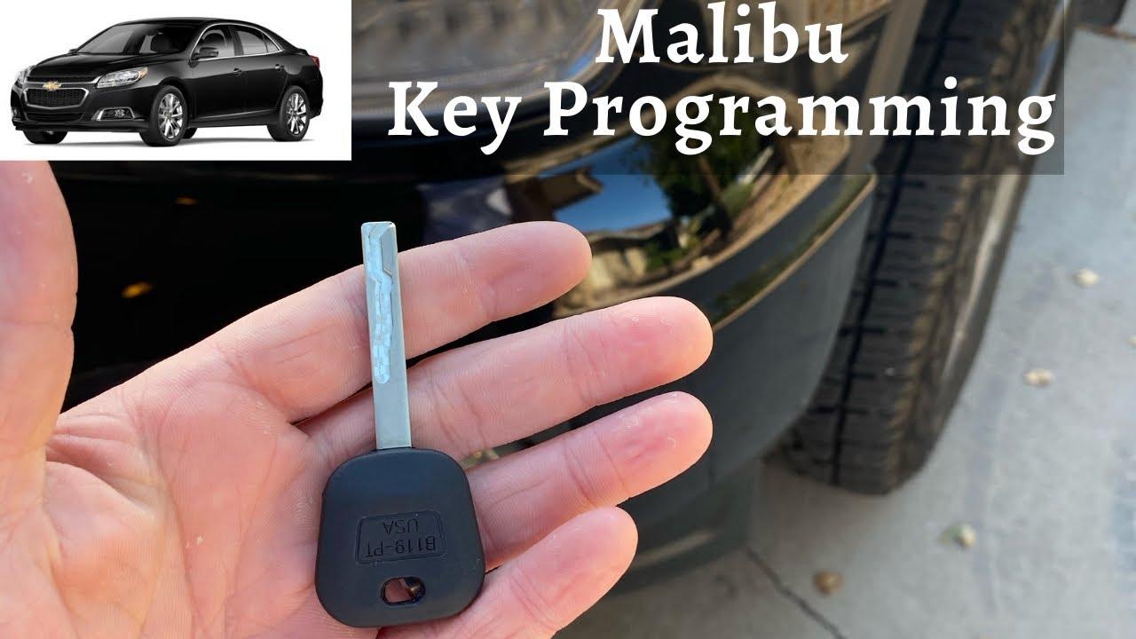 How To Program A Chevy Malibu Key 2004 2016 Diy Chevrolet Transponder Ignition Youtube