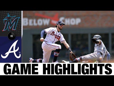 Marlins vs. Braves Game Highlights (7/4/21) | MLB Highlights