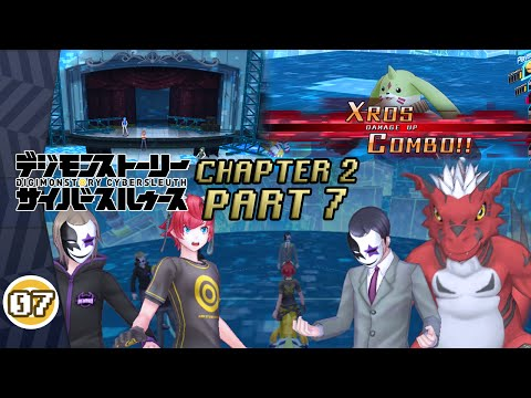 Digimon Story: Cyber Sleuth - Walkthrough Part 7 ~ CHAPTER 2 [Zaxon | Boss: Mephisto-San & Growlmon]