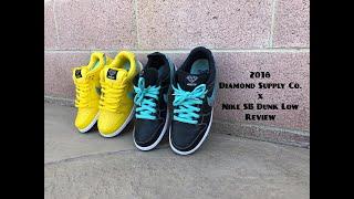 "868992f56a8 Diamond Supply Co x Nike SB Dunk Low ""Black""   ""Canary Yellow"" ..."