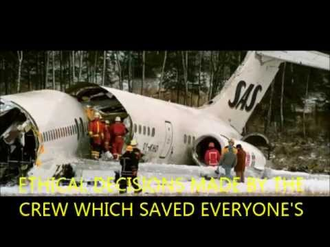 SAS Flight 751: How the crash relates to ethics and communication