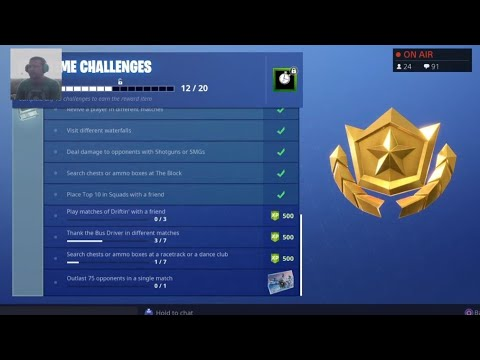 Complete Free Overtime Challenges Fortnite