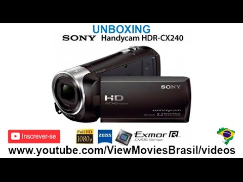 Sony Handycam HDR CX240 Camcorder Video Quality Test - …