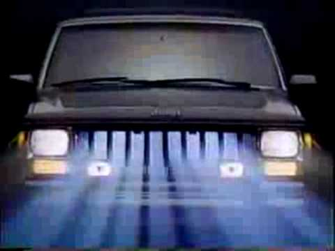 1987 Jeep Cherokee Commercial