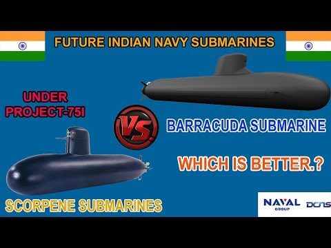 Indian Defence News:Scorpene Sbmarines vs Barracuda Submarines/Comparison in Hindi For (Project-75I)