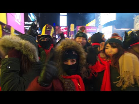 Musical Performances in New York's Times Square