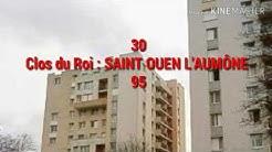 LES 30 CITÉS LES PLUS CHAUDES DU VAL D'OISE (95)
