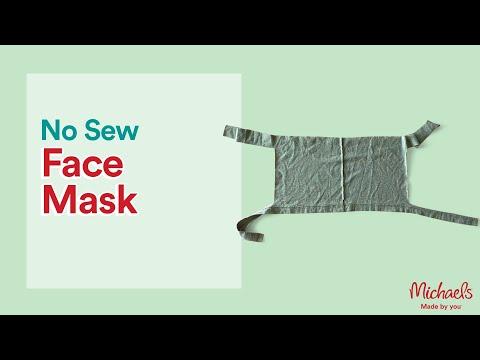 T Shirt Face Mask Michaels Youtube