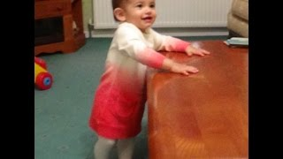 Baby laughing hysterically to pretend dog noises! ♥ ♥