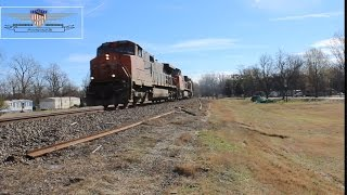 Northbound Coal Train-Glendora, Mississippi
